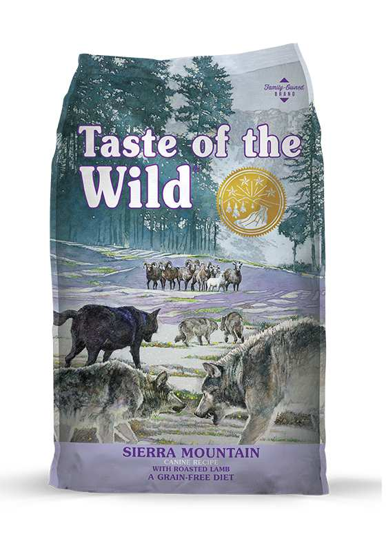 TASTE OF THE WILD - SIERRA MOUNTAIN ROASTED LAMB 2KG