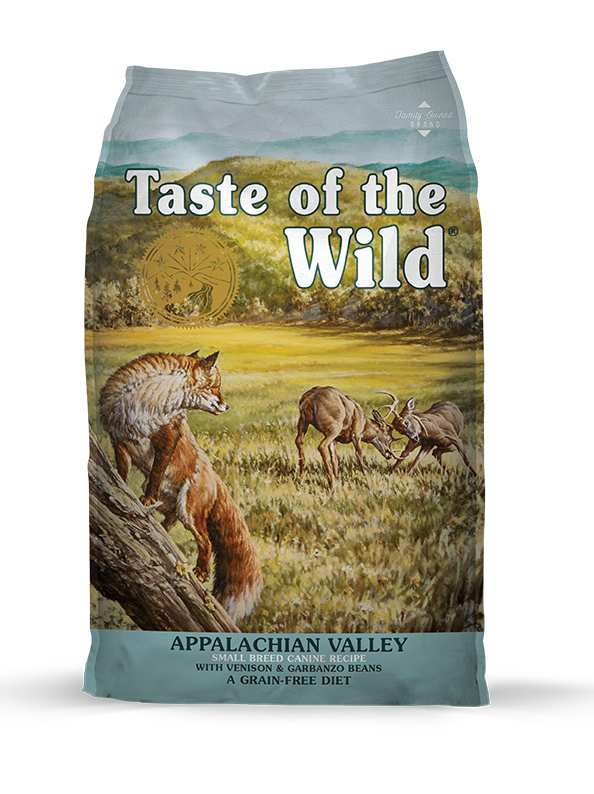 TASTE OF THE WILD - APPALACHIAN VALLEY VENISON & GARBANZO BEANS 2KG