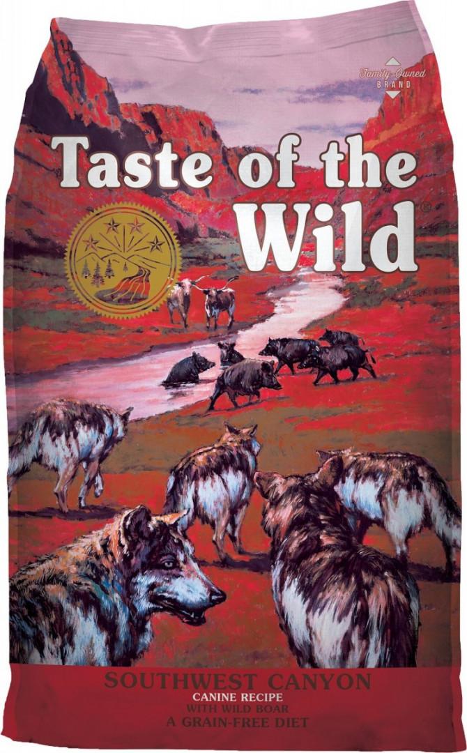 TASTE OF THE WILD - SOUTHWEST CANYON WILD BOAR 12.2KG
