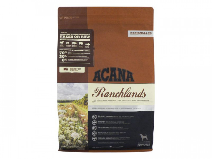 ACANA RACHALANDS Dog Food 2KG
