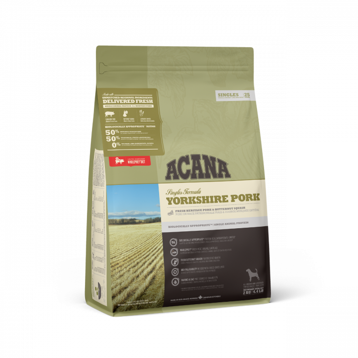 ACANA Dog Food YORKSHIRE PORK 2KG