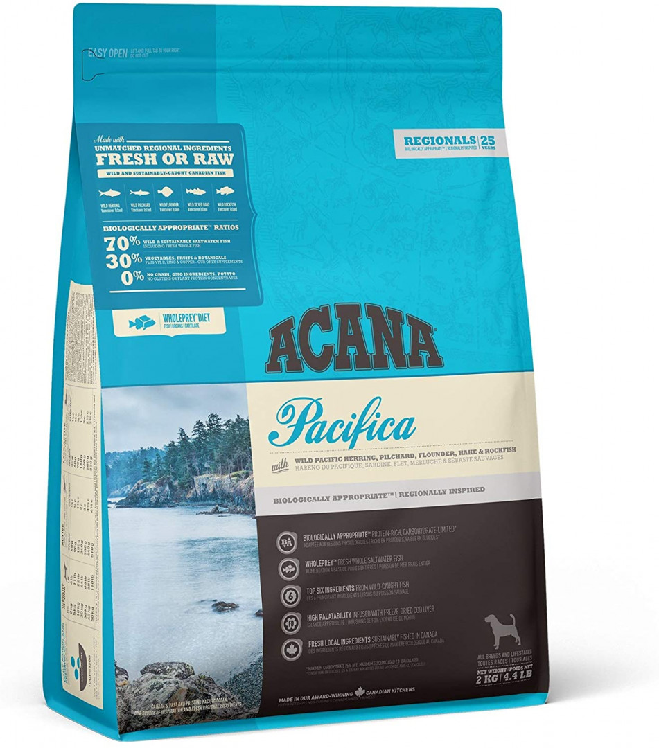 ACANA Dog Food PACIFICA 2KG