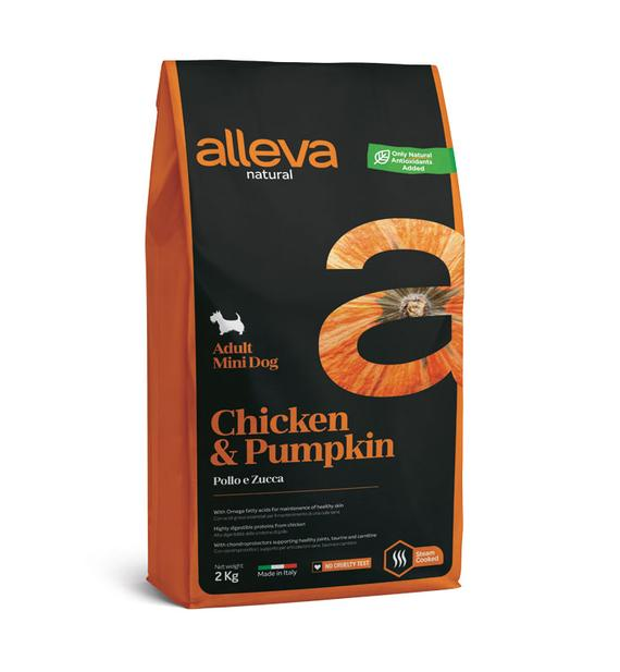 ALLEVA NATURAL Adult Mini Dog - Chicken 2KG