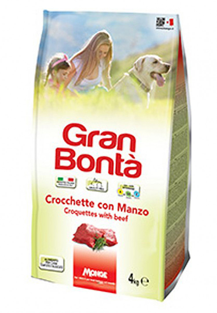 gran bonta Dog Food CROQUETTES WITH BEEF 4kg