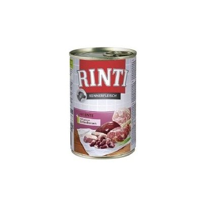 Rinti kennerfleisch Wet Dog Food with Duck 400g