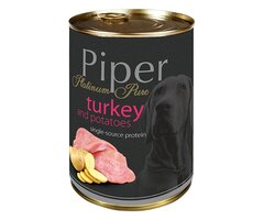 Piper animals Wet Dog Food platinum pure with turkey with potatoes 400g