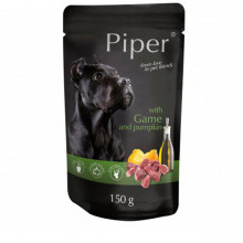 Piper animals Wet Dog Food with game and pumpkin 150g