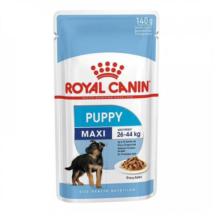 Royal Canin Dog Maxi Puppy Pouch in gravy salsa 140g