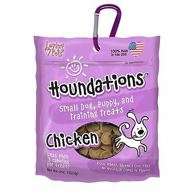 foundations small dog, puppy, and training treats