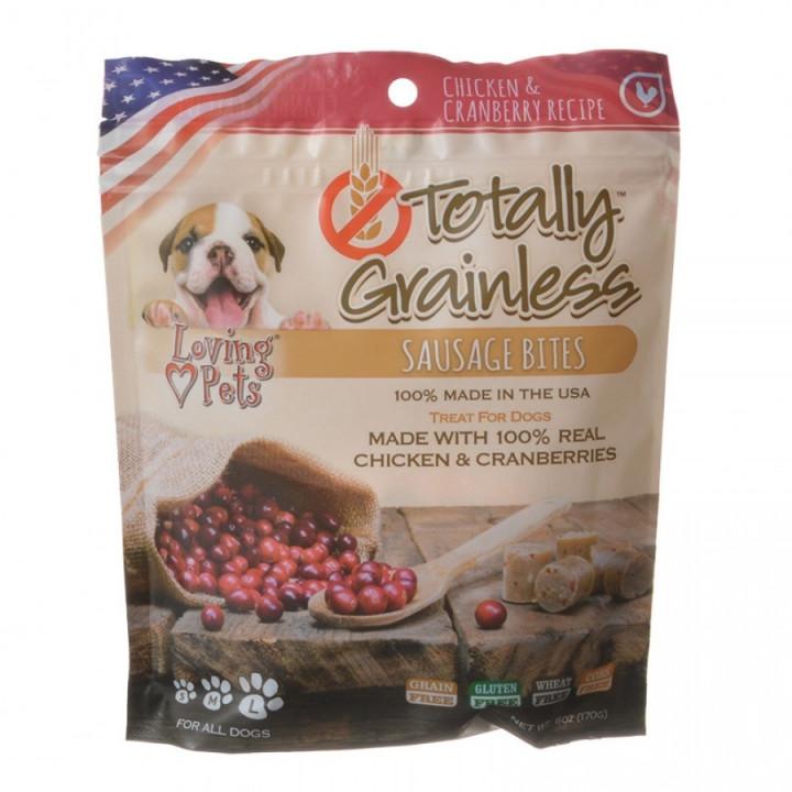 totally grainless sausage bites