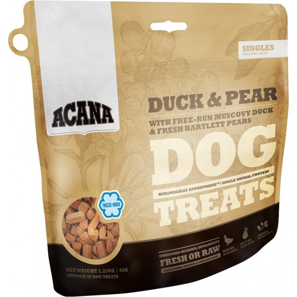Acana dog treats with duck and pear 45g
