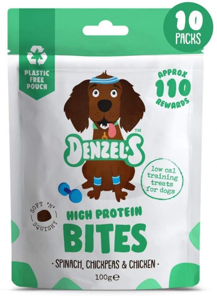 Denzel's high protein bites