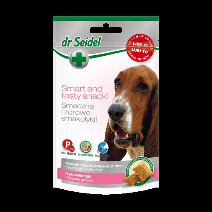 Dr. Seidel dog treats hypoallergenic 90g