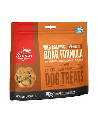 ORIJEN Freeze-Dried Dog Treats with Wild-Roaming Boar 42.5g