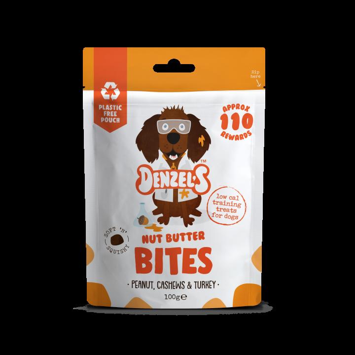 Denzel's nut butter bites