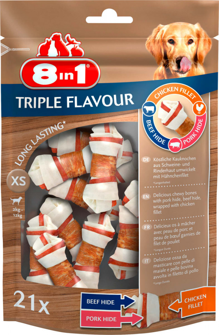 8 in 1 triple flavour treats