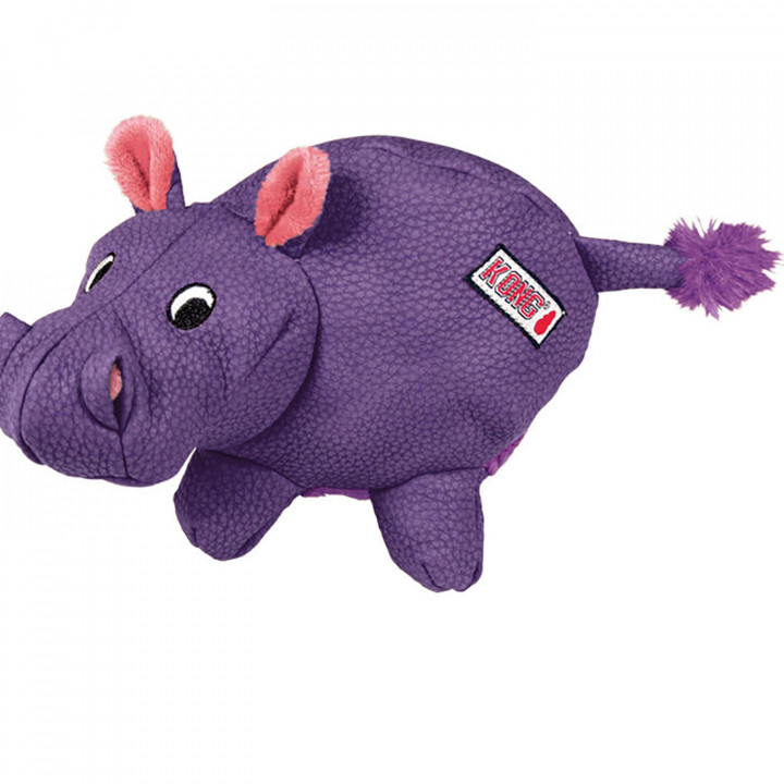 Kong phatz Dog Toy - Hippo