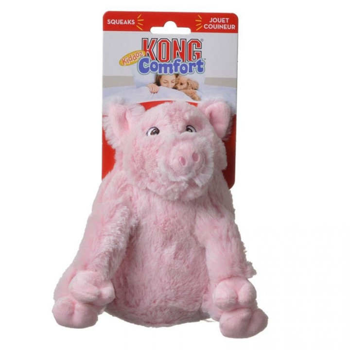 Kong comfort Dog Toy - Pig