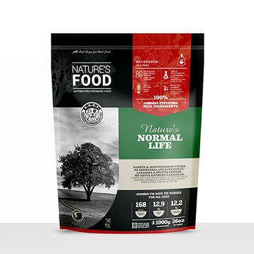 NATURE'S FOOD NORMAL LIFE CHICKEN PATTIES 1000g