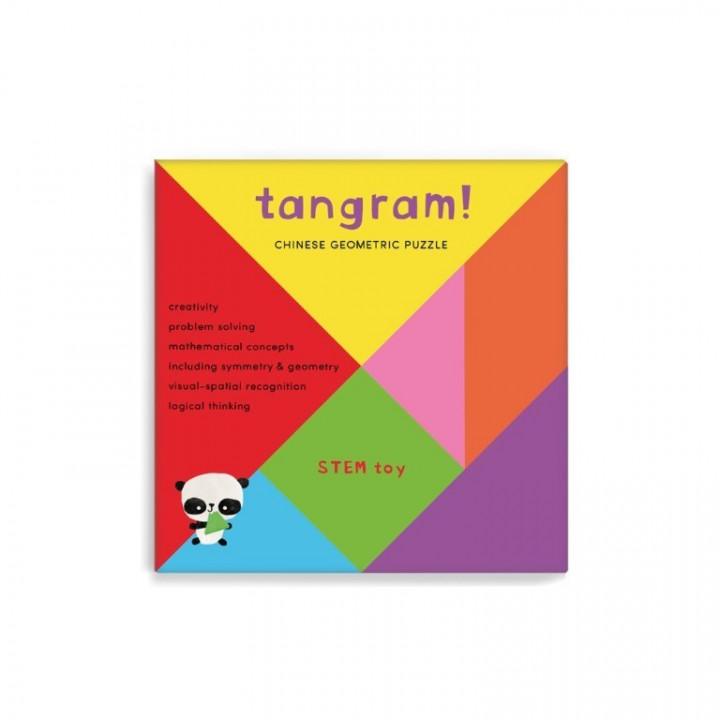Tangram, 7 Piece Geometric Puzzle