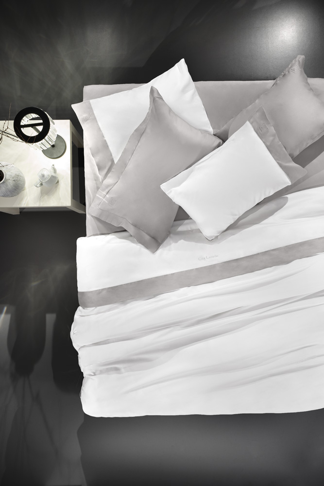 GUY LAROCHE Σεντόνια Silky σετ 4 τεμαχίων - Ice Silver (270x280)