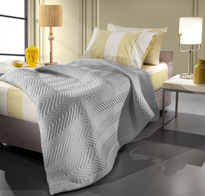 Guy Laroche Κουβερλί Μονό Trendy - Silver (170x220)