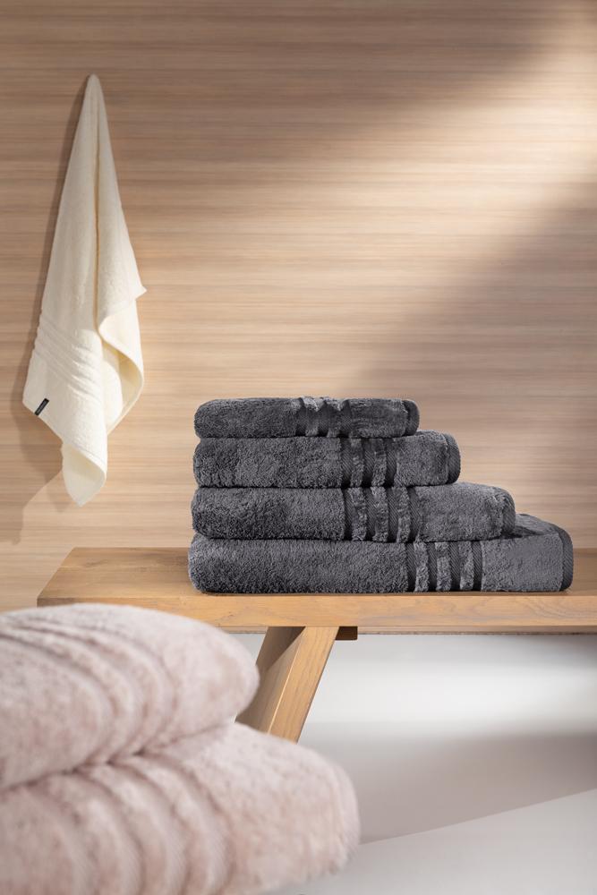 Guy Laroche Πετσέτα μπάνιου Bonus - Anthracite (70x140)