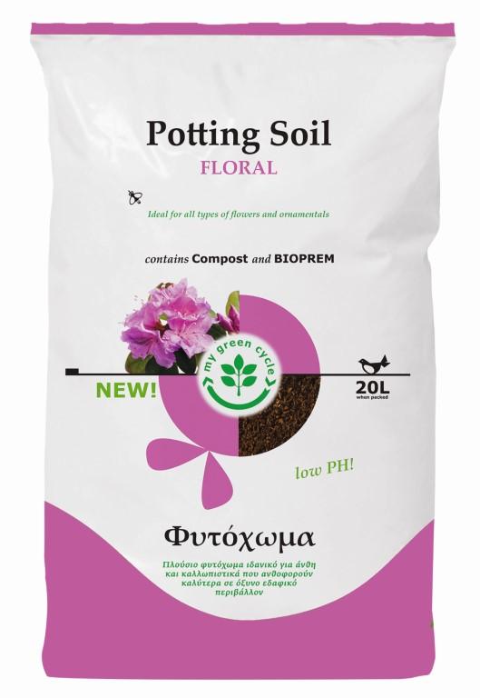 POTTING SOIL FLORAL 20LT