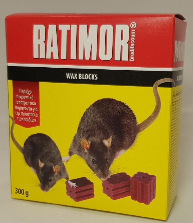 RATIMOR BLOCK 10GR 300GR