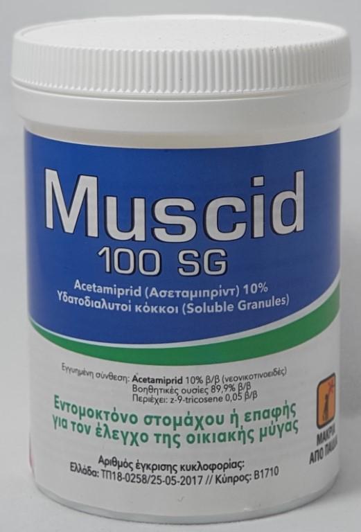 MUSCID 100SG 100GR
