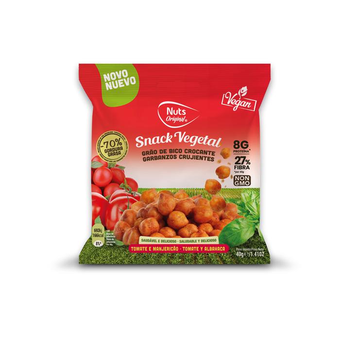 Crunchy Chickpeas Tomato & Basil - 40g