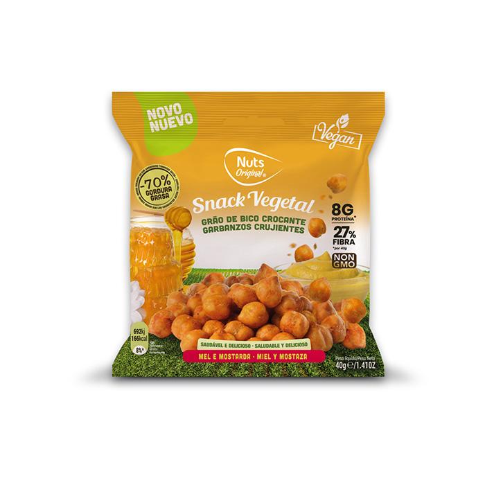 Crunchy Chickpeas Honey & Mustard - 40g