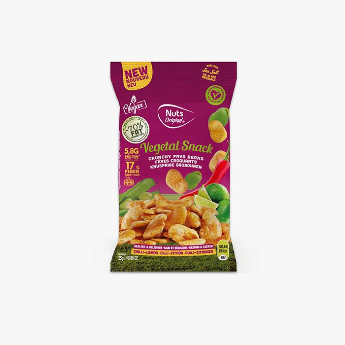 Crunchy Fava - Chilli - Lemon - 25g