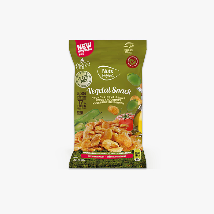 Crunchy Fava - Mediterranean 25g
