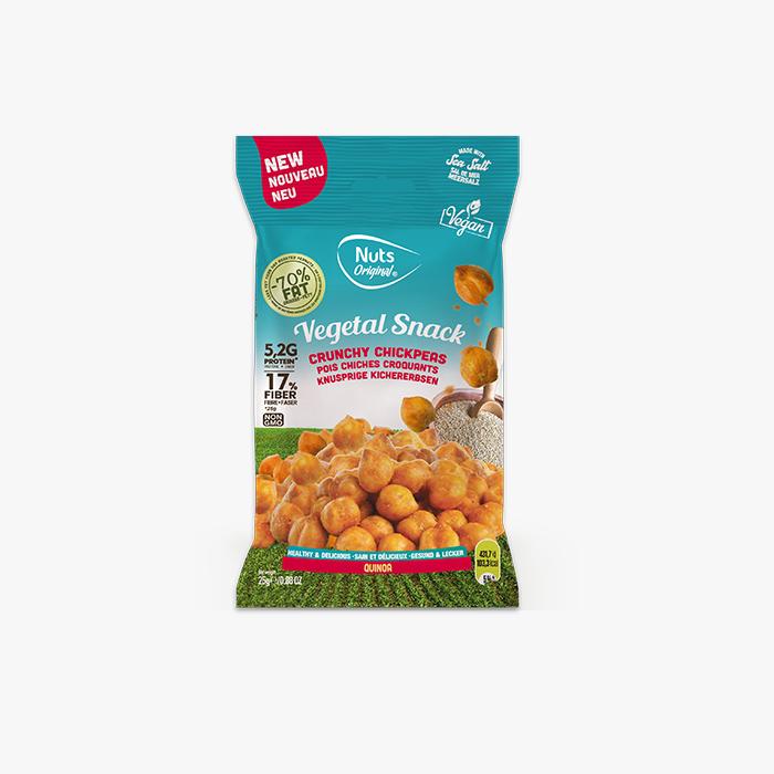 Crunchy Chickpeas Quinoa - 25g