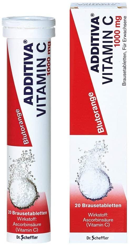 Additiva Vitamin C Blutorange 20 Soluble Tablets