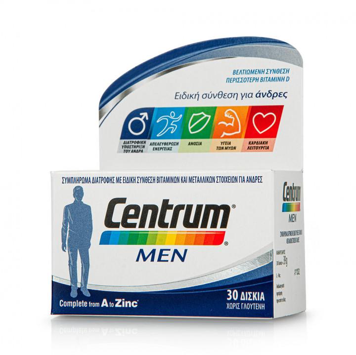 CENTRUM MEN 30 Tablets