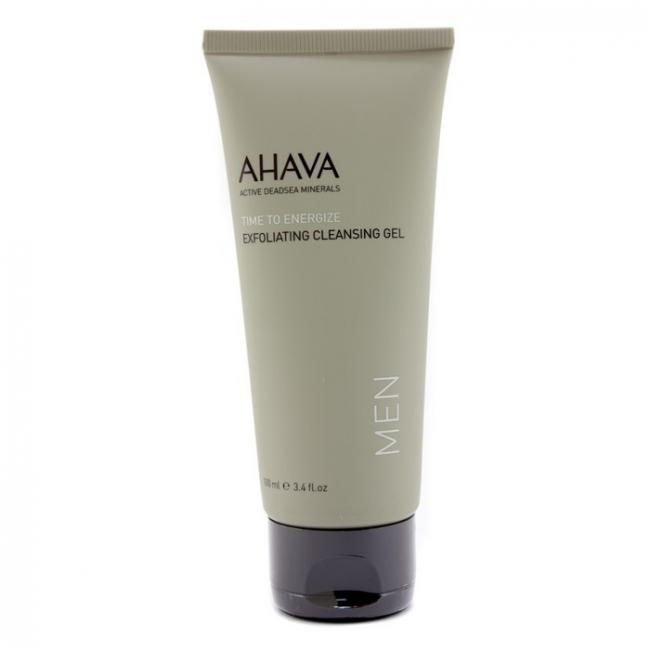 Ahava men's exfoliating face cleansing gel 100ml