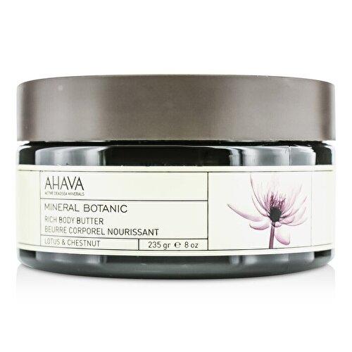 Ahava mineral rich body butter 235g