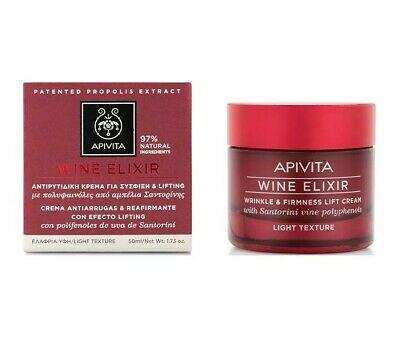 Apivita wine elixir lifting cream light 50ml