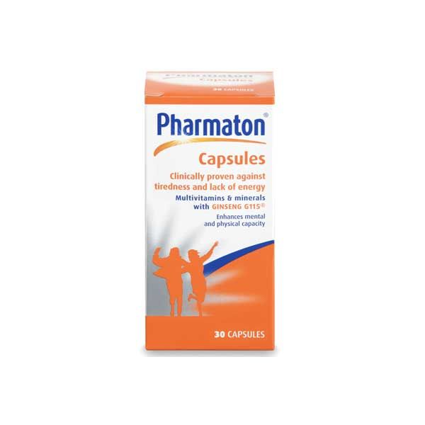 Pharmaton multivitamins with ginseng 30 Tablets