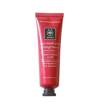 Apivita Radiance pomegranate face mask 50ml