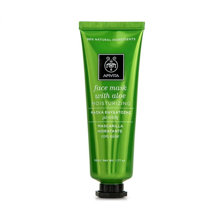 Apivita Moisturizing Aloe face mask 50ml