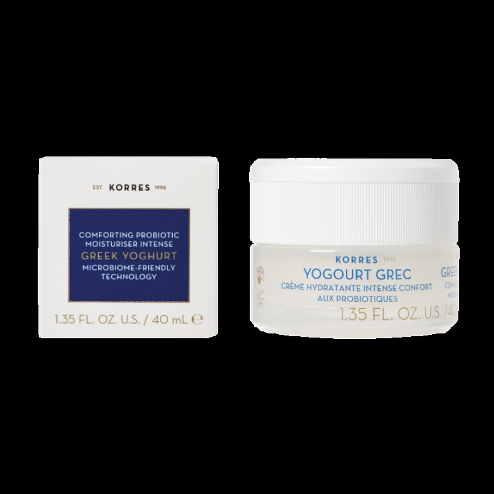 Korres Greek yogurt probiotic moisturiser for dry skin 40ml