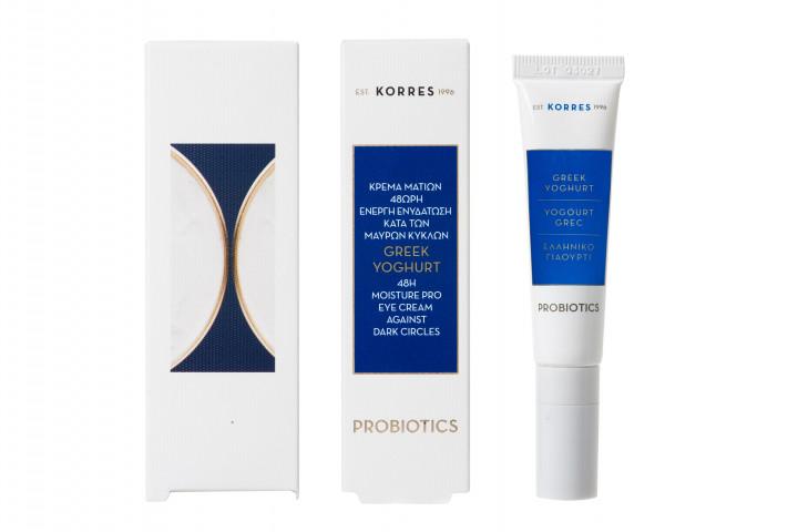 Korres Greek yogurt eye cream against dark circles 15ml