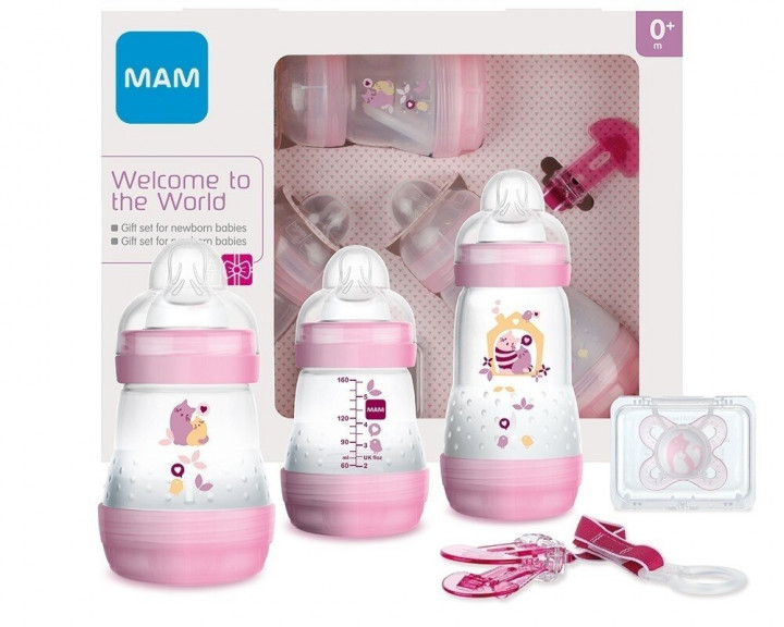 MAM WELCOME TO THE WORLD GIFTSET GIRL