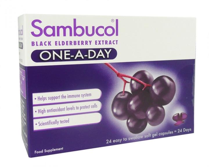 Sambucol 24 Gel Capsules