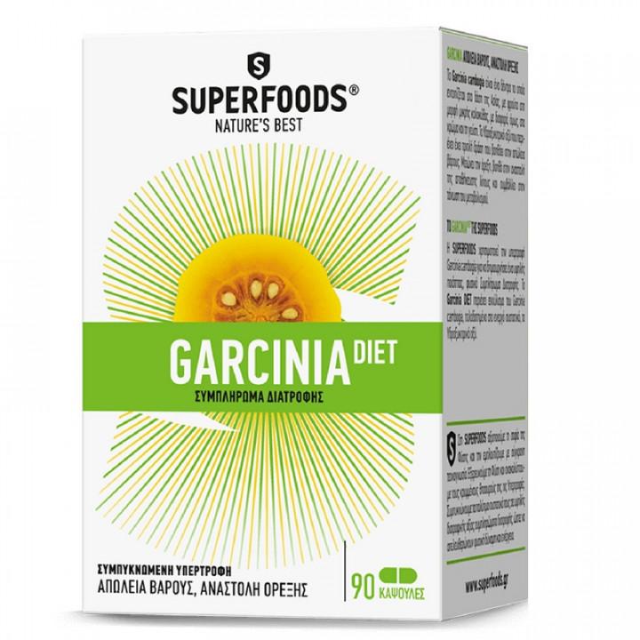 SUPERFOODS GARCINIA DIET 90 Capsules