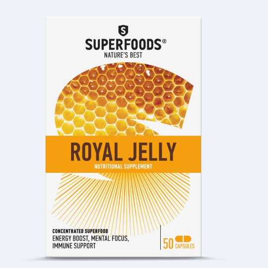 SUPERFOODS ROYAL JELLY 50 Capsules