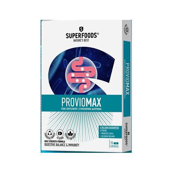 SUPERFOODS PROVIOMAX 15 Capsules